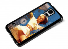 Coque Samsung Galaxy S5 Vintage Case - Sailor Pin Up
