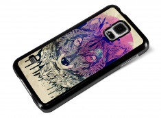 Coque Samsung Galaxy S5 Wolf Face