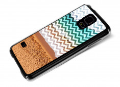 Coque Samsung Galaxy S5 Chevrons Beach