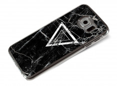 Coque Samsung Galaxy S6 Black Marble