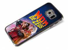 Coque Samsung Galaxy S6 Retour Vers le Futur-Nom de Zeus