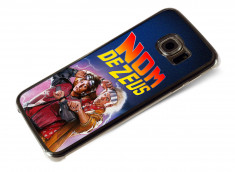 Coque Samsung Gallaxy S6 Edge Retour Vers le Futur-Nom de Zeus