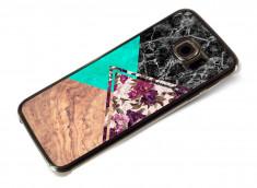 Coque Samsung Galaxy S6 Edge Floral Marble
