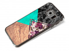 Coque Samsung Galaxy S6 Floral Marble