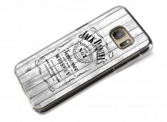Coque Samsung Galaxy S7 Jack Daniel's Vintage - Blanc