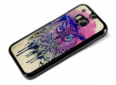 Coque HTC One M8 Owl Face