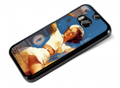Coque HTC One M8 Vintage-Sailor Pin Up