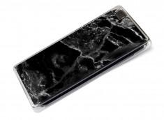 Coque Huawei P8 Lite Effet Marbre- Noir