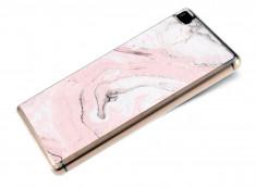 Coque Huawei P8 Effet Marbre- Rose
