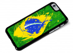 Coque iPhone 6/6S Drapeau Bresil Grunge