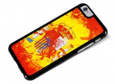 Coque iPhone 6/6S Drapeau Espagne Grunge