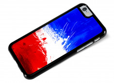 Coque iPhone 6/6S Drapeau France Grunge