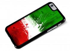 Coque iPhone 6/6S Drapeau Italie Grunge