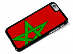 Coque iPhone 6/6S Drapeau Maroc