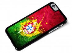 Coque iPhone 6/6S Drapeau Portugal Grunge