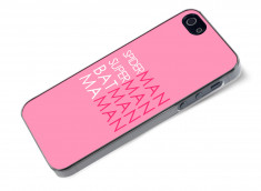 Coque iPhone 5/5S Maman Hero