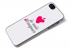 Coque iPhone 5/5S Je suis à croquer