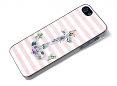 Coque iPhone 5/5S Flowers Anchor
