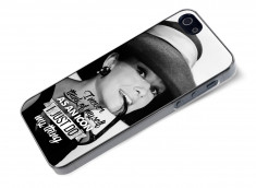 Coque iPhone 5/5S The Icons- Audrey Hepburn