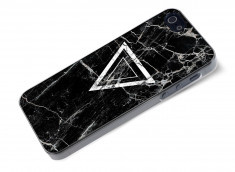 Coque iPhone 5/5S Black Marble