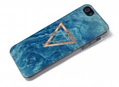 Coque iPhone 5/5S Blue Wood