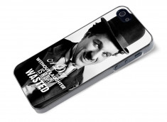 Coque iPhone 5/5S The Icons- Charlie Chaplin
