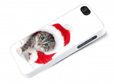 Coque iPhone 5/5S Christmas Cat