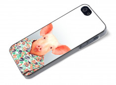 Coque iPhone 5/5S Smart Zoo- Cochon