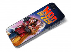 Coque iPhone 5/5S Retour Vers le Futur-Nom de Zeus
