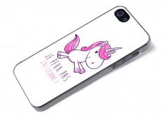Coque iPhone 5/5S Je Peux Pas J'ai Licorne
