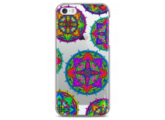 Coque iPhone 5C Multi Mandala
