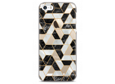 Coque iPhone 5C Artistic geometric marble