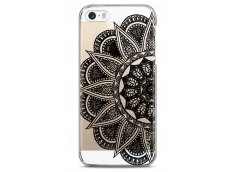 Coque iPhone 5C Black Lace Mandala