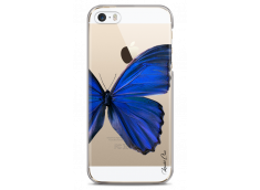 Coque iPhone 5C Blue butterfly