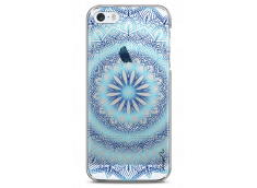 Coque iPhone 5C Blue Galaxy Mandala