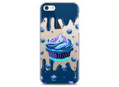 Coque iPhone 5/5s/SE Blue Chocolate muffins pattern