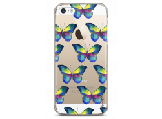 Coque iPhone 5C Watercolor butterflies pattern