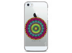 Coque iPhone 5C Multicolore Mandala