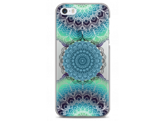 Coque iPhone 5C Collage Multicolor Mandala