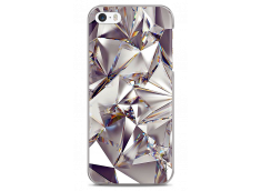 Coque iPhone 5C Purple Cristal geometric design