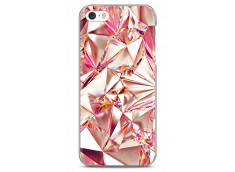 Coque iPhone 5C Pink Cristal geometric design