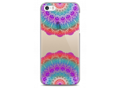 Coque iPhone 5C Double Multicolor Galaxy Mandala