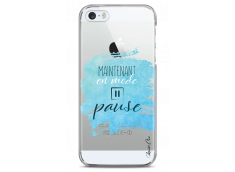 Coque iPhone 5/5s/SE Maintenant en mode pause