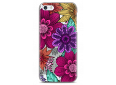 Coque iPhone 5C Floral Vibrant hand drawn illustration