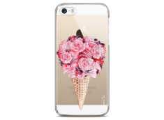 Coque iPhone 5C Flowers and macarons bouquet