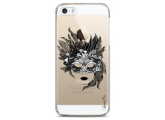 Coque iPhone 5/5s/SE Flowers mask