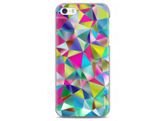 Coque iPhone 5C Fresh Geometric Color