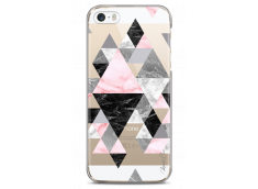 Coque iPhone 5C Geometric Triangle Marble