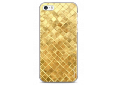 Coque iPhone 5C Gold Geometric Design