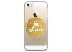 Coque iPhone 5/5s/SE Gold Glitter - It's Time to Shine
